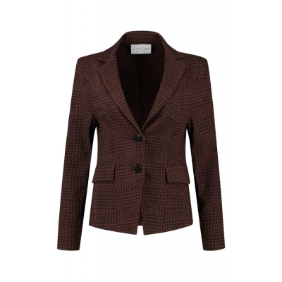 Helena Hart Galle Blazer Burned Red