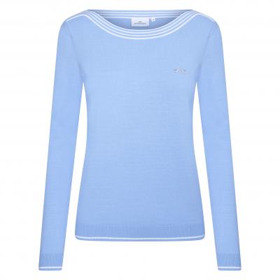 HV Society Pullover Ramira Lavender Blue
