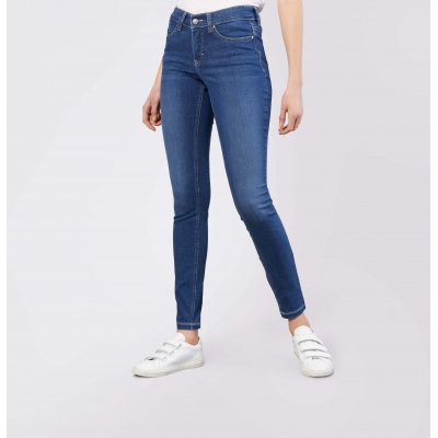 MAC Dream Jeans Skinny Mid Blue Authentic Wash