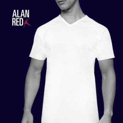 Alan Red Vermont t-shirt 2 pack