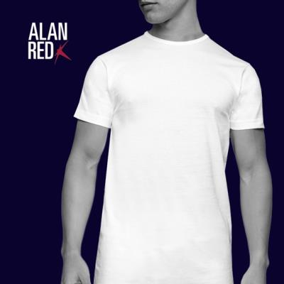 Alan Red Derby t-shirt 2 pack