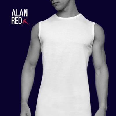 Alan Red Montana singlet 2 pack