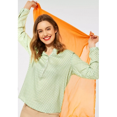 Street One Blouse Bamika Faded Green