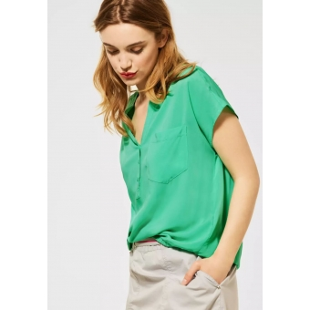 Street One Blouse Yucca Green