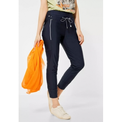 Street One Bonny Broek Travel Deep Blue