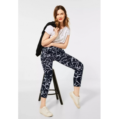 Street One Bonny Broek Travel Black