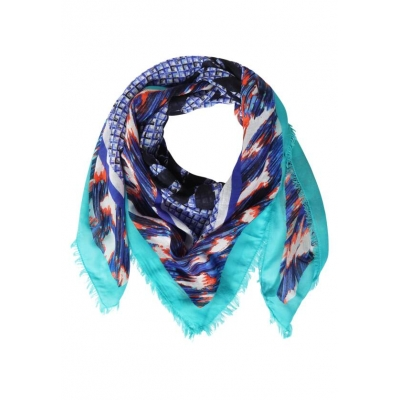 Street One Square Scarf Multi Colour