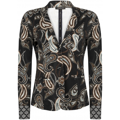 Tramontana Jacket Travel Sark Paisley Black