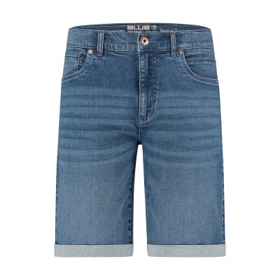 Blue Fields Shorts Denim Stone Blue