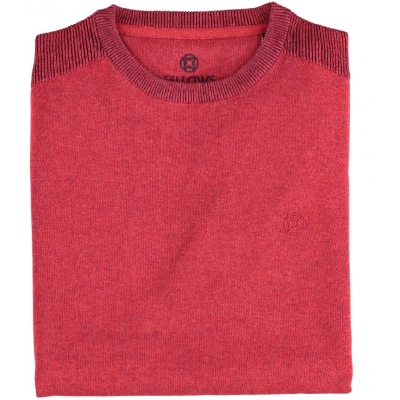 Fellows United Crew Neck Red
