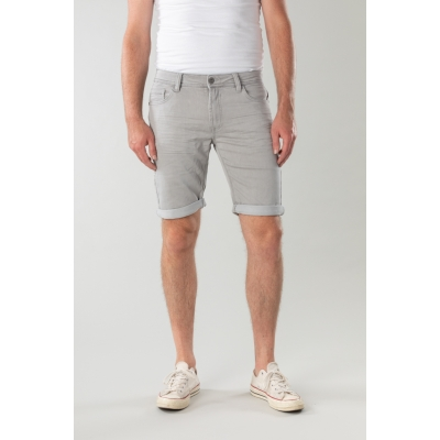 New Star Jogg Jeans Bermuda Valero Grey
