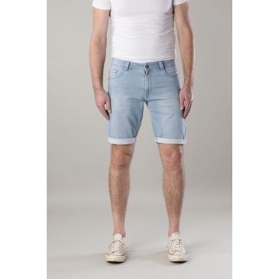 New Star Jogg Jeans Bermuda Valero Bleach Blue