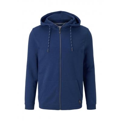 Tom Tailor Hooded Vest Dark Blue