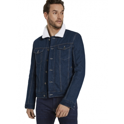 Tom Tailor Denim Jacket  Dark Stone Wash