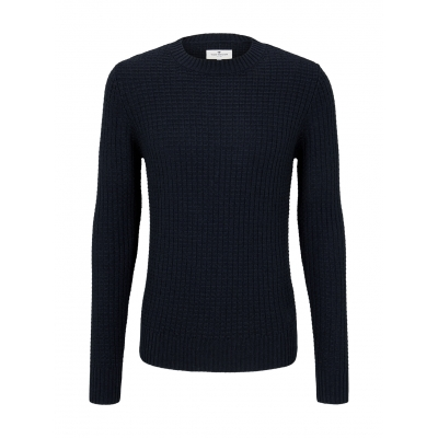 Tom Tailor Crew Neck Sweater Sky Blue