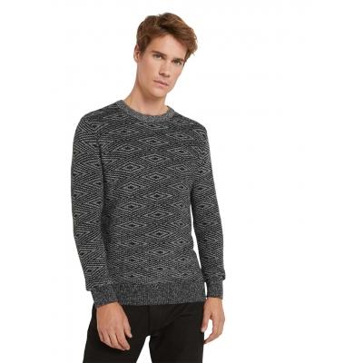 Tom Tailor Pullover Black White