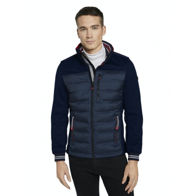 Tom Tailor Hybrid Jacket Sky Blue