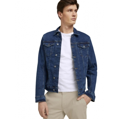 Tom Tailor Denim Jacket Mid Stone Wash