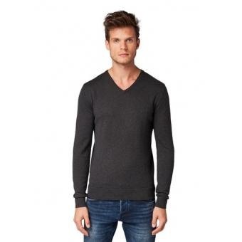 Tom Tailor Sweater Black Grey