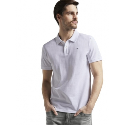 Tom Tailor Polo Shirt White